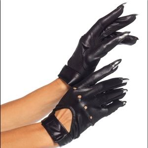 New in Package Leg Avenue Claw Motorcycle Gloves
